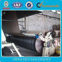 Best price culture paper manufacturing machine with full productin line for sale