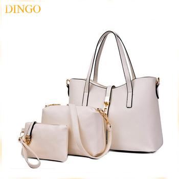 2f19cb55fd3 Famous Brands Handbags 2018 Elegant Female Big Bags Crocodile Women's Pu  Leather Handbag 3 Pcs/set Women Messenger Bag - Buy Handbag Set,Women Bag  ...
