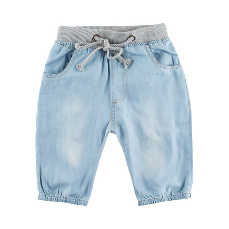Hot sale 2015 high quality boys jeans shorts baby boy casual sports shorts denim jeans shorts for boy fit for 2-10 Y.TN006