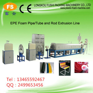 pe welding rod extrusion line/welding electrode making machine