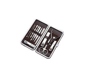 Professional Grooming Kit Nail Clippers Set Nail Tools with Luxurious Travel Case