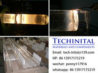 machined quartz parts for solar cells and panels semiconductor