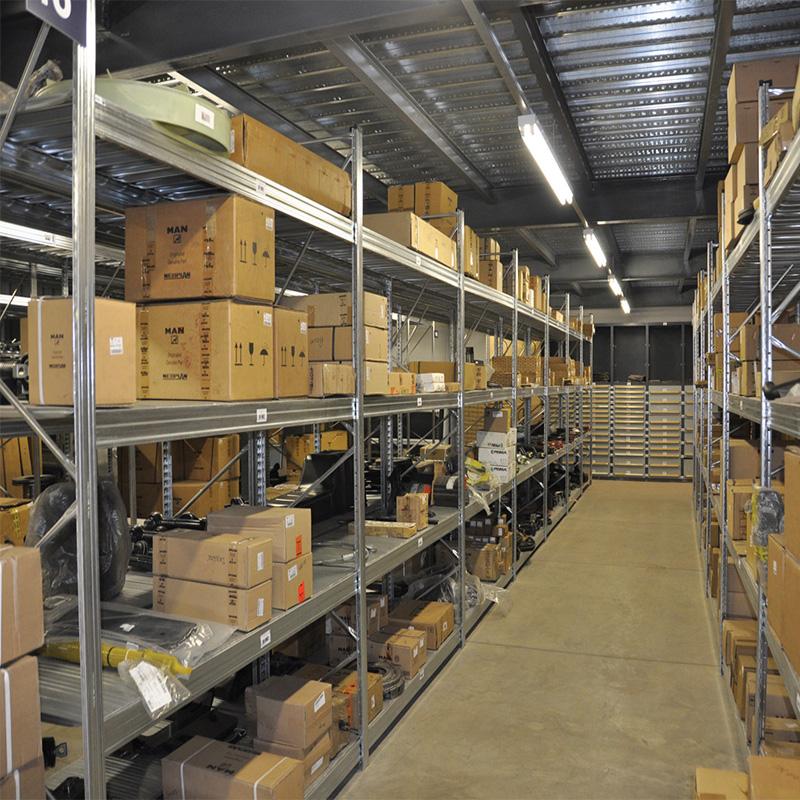 200-500kgs storage rack display selective pallet racking long span shelves for warehouse