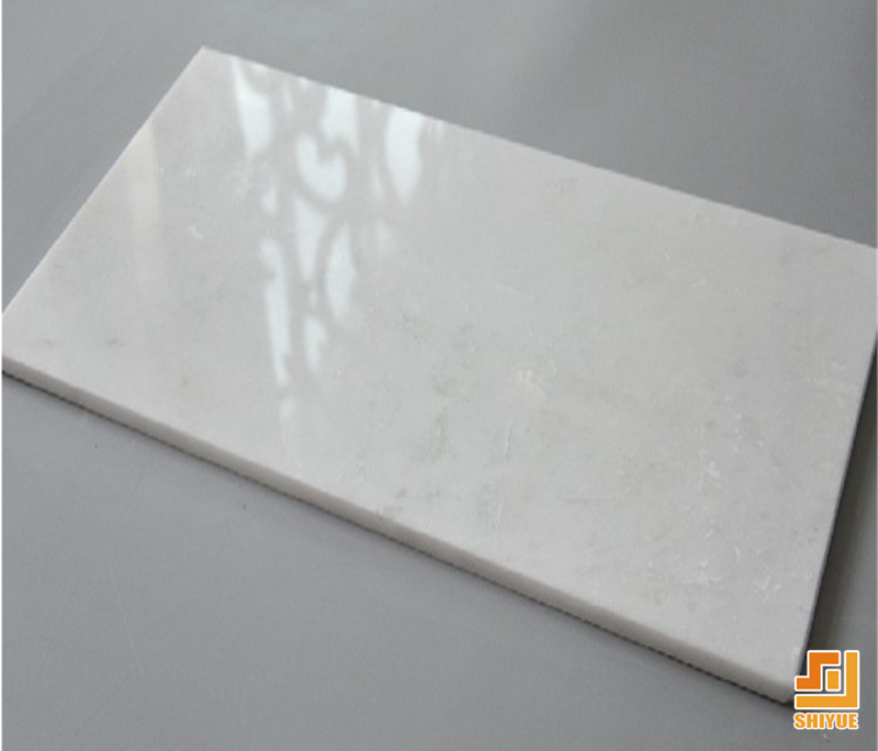 Nano White Artificial Marble Tiles Buy Pure White Marble Tiles - Fake marble slab