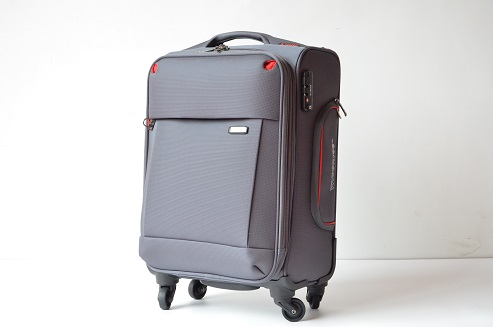 New Design Outside Black,Red,Blue Trolley Travel Soft Luggage ...