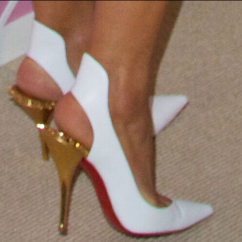 Gold Red Bottom Shoes Replica Louboutin Shoes