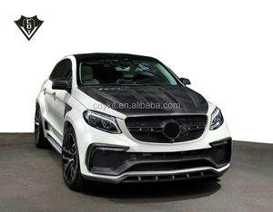 Mercede bens GLE coupe body kit LA style wide body kit for GLE 2018 new