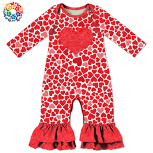 wholesale baby clothes winter clothes valentines day romper st patricks day blank onesie pajamas shamrock baby