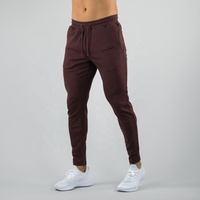 hot sale tapered fit mens jogger custom track pants athletic bottoms casual sweatpants