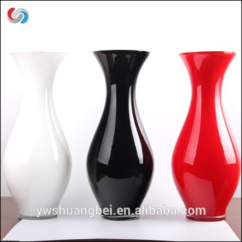 Promotion Handblown High Quality Colored Cheap Glass Vases For