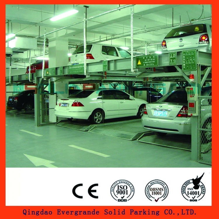 2,000KG - 3,000 KG strong capacity Anti-rust Treatment Powder Coating car parking lift
