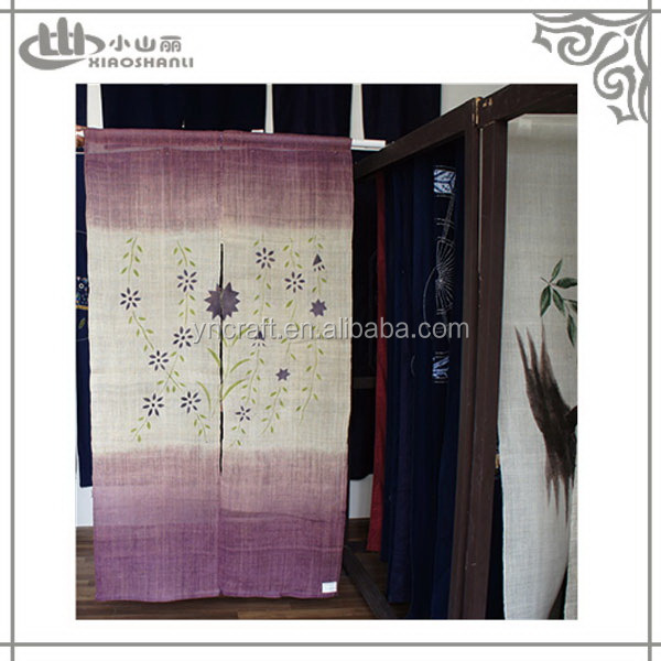 Selected material serviceable curtains for doors