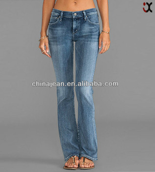 806a370973e 2017 stylish bootcut jeans for tall women denim jeans for women low rise  jeans JXL20979