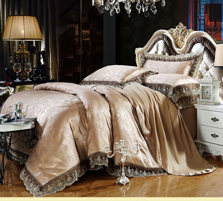 Valued Palace Style Bed Sheets 100 Cotton Comforter Set