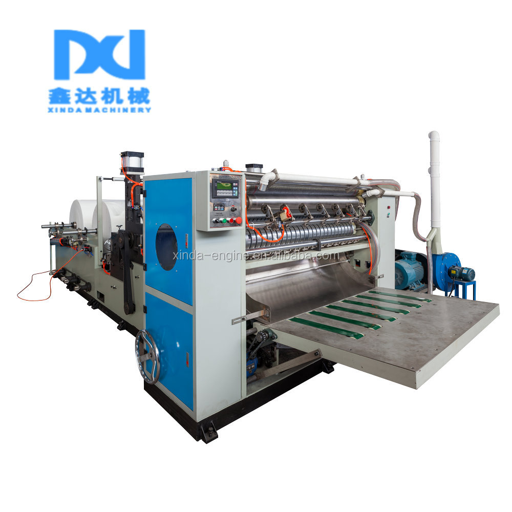 4 lines domestic facial tissue making machine