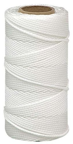 Lehigh BNT12W6 18-Inch by 500-Feet Nylon Braided Mason Line, White