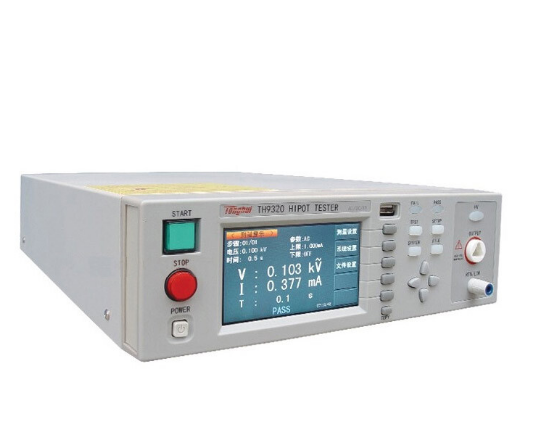 TH9320 AC/DC Withstanding Voltage & Insulation Resistance Tester Hipot Tester Safety Tester