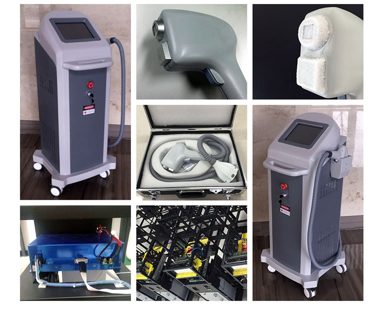 Bm17 Cooling Technology Applied 808 Nm Diode Laser Hair Removal Machine