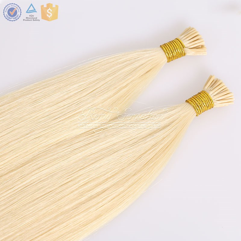 Prebonded Hair Double Drawn Human Hair cheap I tip Hair Extensions Wholesale