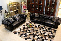High Quality 5'x8' Modern Cowhide Carpet