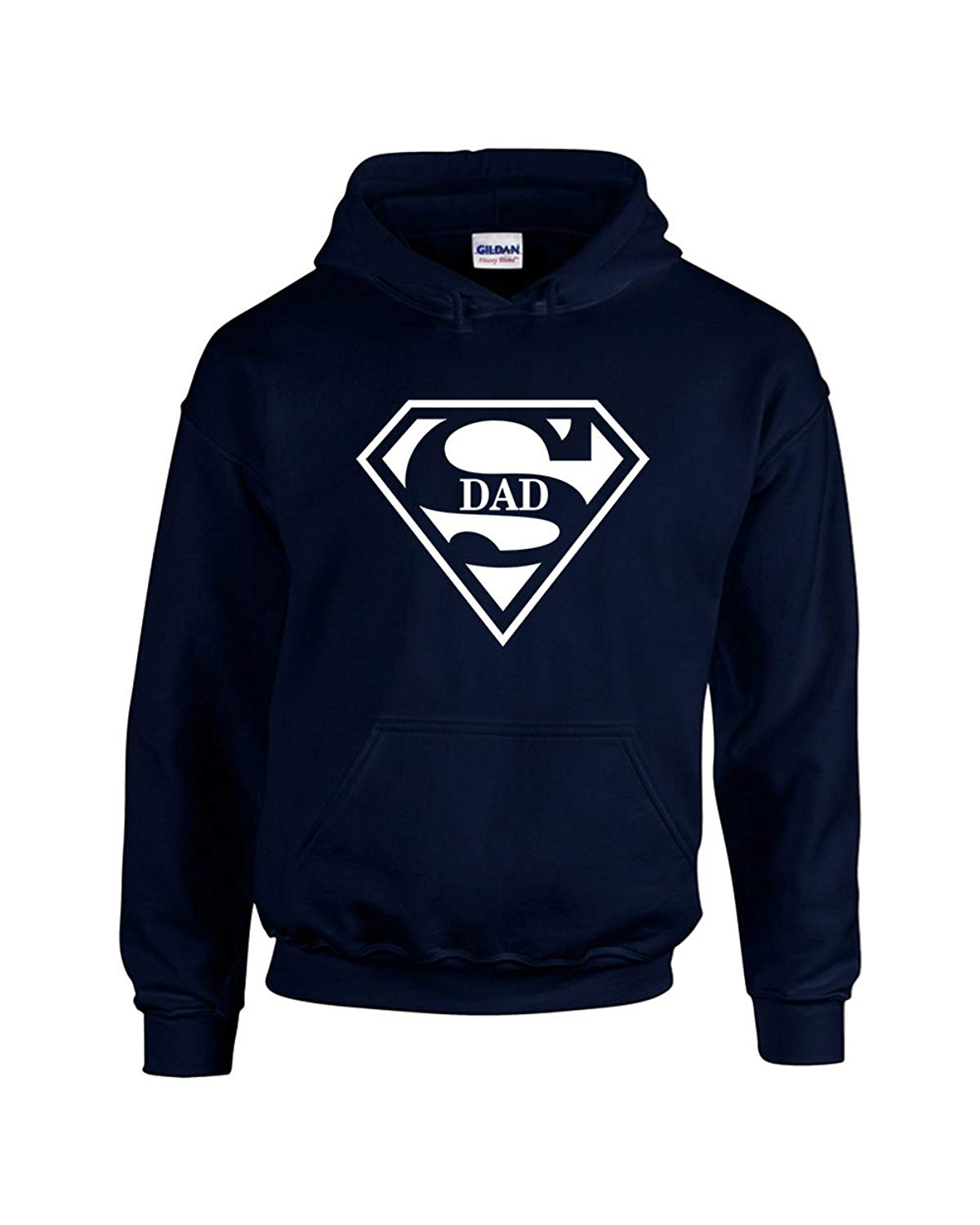 34cdfef3a9e2 Get Quotations · H D Shirt Shoppers Hoodies For Men Super Dad Superman  Designed Pullover Hooded Sweatshirt