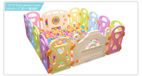 Supply Customized Child Education Soft Play Product Playpen Vinyl Fence