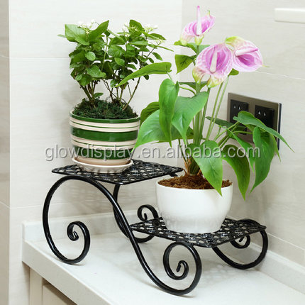 hot sale plant garden iron flower pot stand