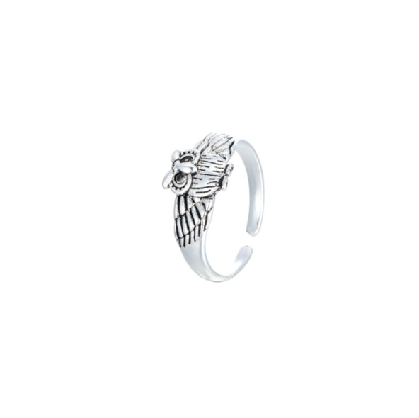 2019 neue Ankunft Mode 925 Sterling Silber Eule Ring