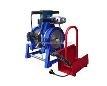 Hdpe Pipe Manual Butt Fusion Machine 63-200mm Poly Pipe Welder ...