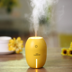 2017 new hot air lemon humidifier for office and car, USB portable humidifier