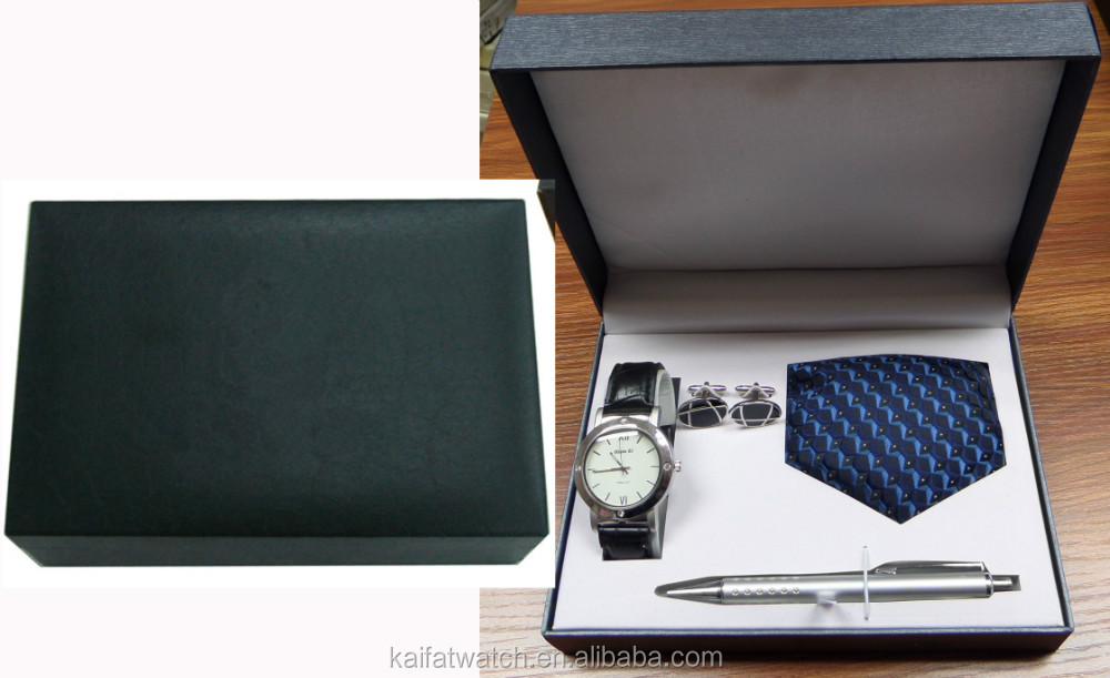 Wholesale Men Luxury Watch Gift Set With Cufflinks,Tie And Pen ...