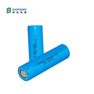 3.2V 1500mAh LiFePO4 IFR 18650 Rechargeable Battery For High Temp Emergency