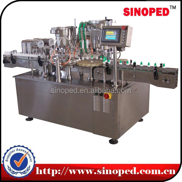 factory price automatic medicine liquid filling machine for mint oil and iodine