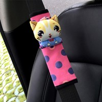 Wholesale Plush Material Kids Safety Car Seat Belt Cover