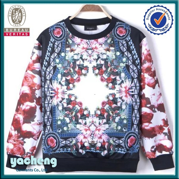 Wholesale Custom sublimation hoodies /sweatshirts custom design 3d ...