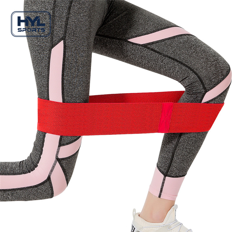 HYL-HCO2 Custom logo stretch fitness hip weerstand bands