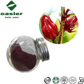 High Quality Rose Eggplant Extract , Roselle Calyx Extract , Roselle Extract