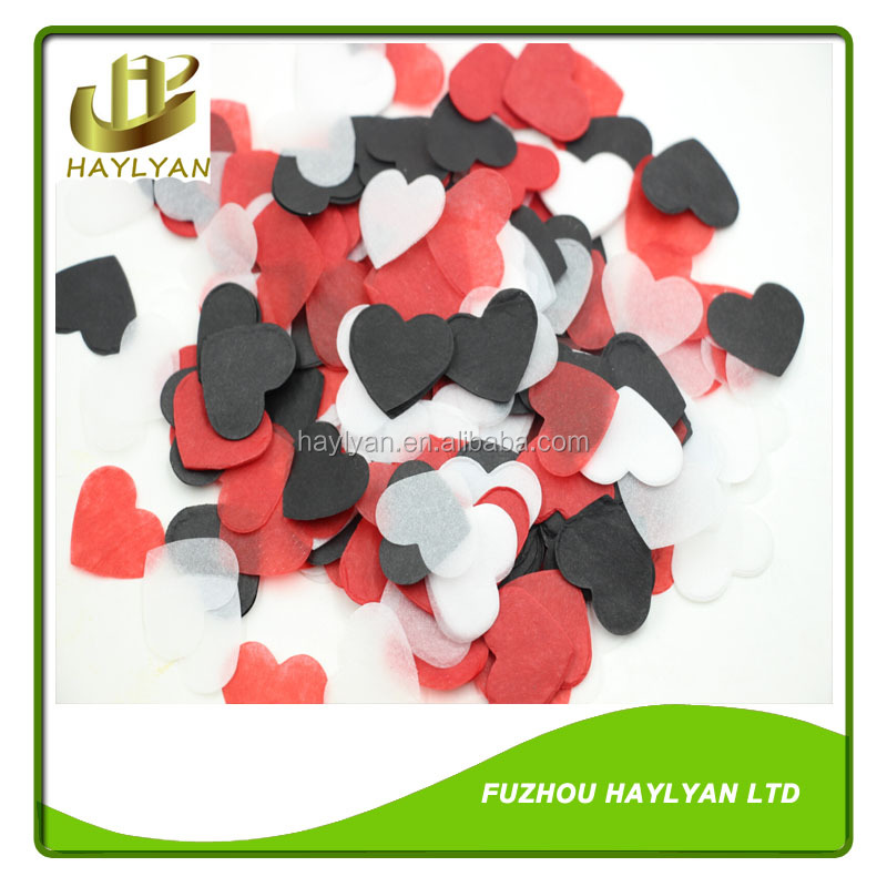 Round confetti wedding tissue confetti wholesale