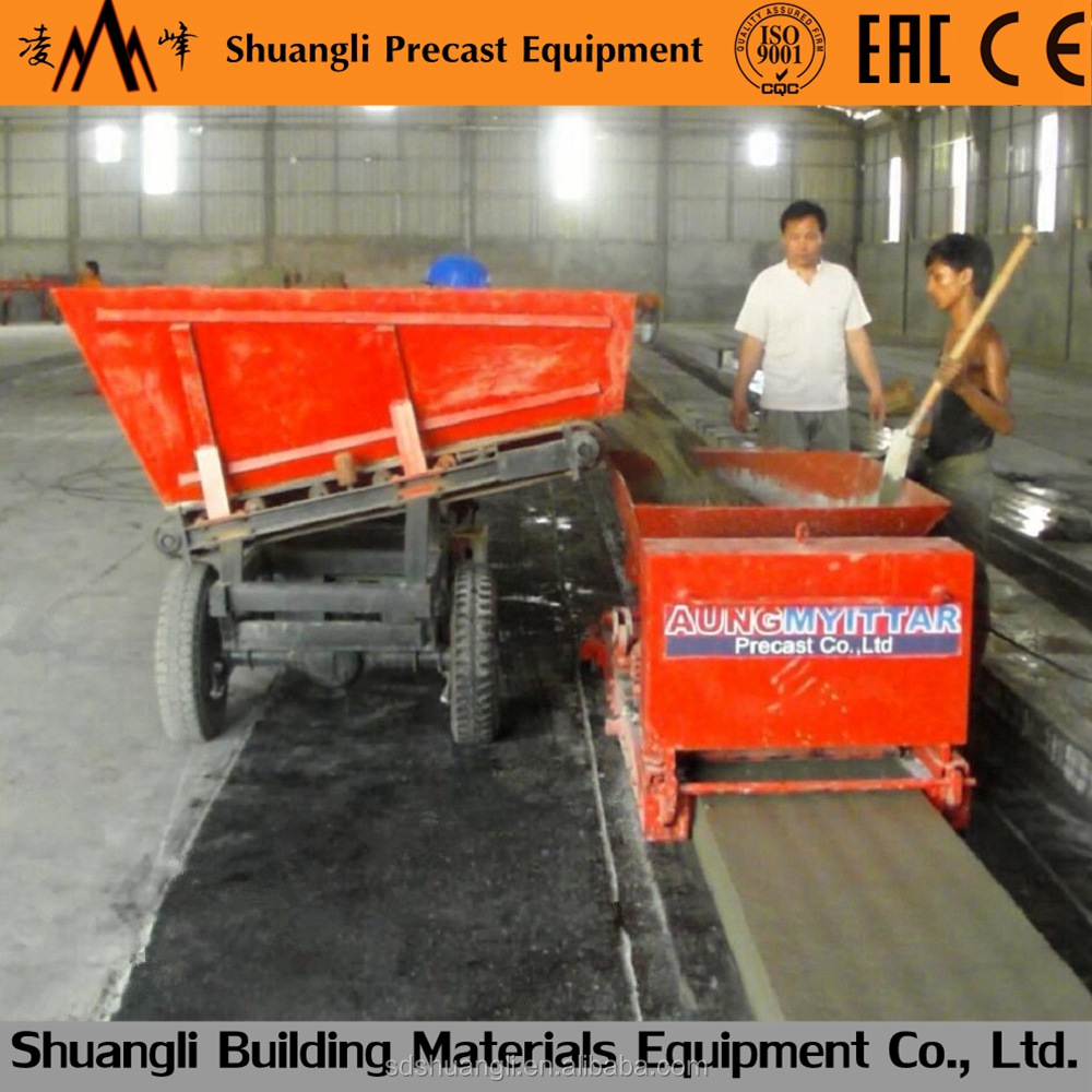 ISO,CE Precast concrete Slab machine/production concrete floor slabs/concrete precast houses/brick making machine/roof tile