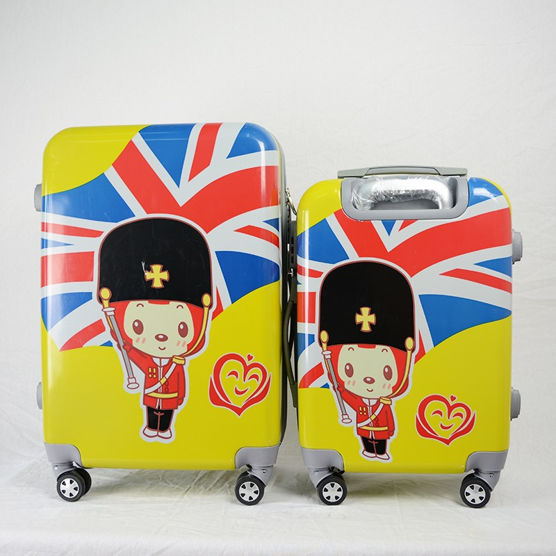 Cute Cartoon Printed Luggage , Small Medium size Roller Case
