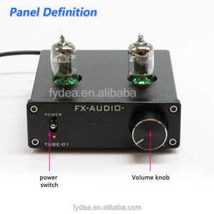 FX-Audio TUBE-01 6J1 Tube Buffer Processor For CD/VCD/DVD tube stereo amplifier