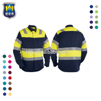 New Design Workwear Safety Winter Worker Use Jacket for Welding Work