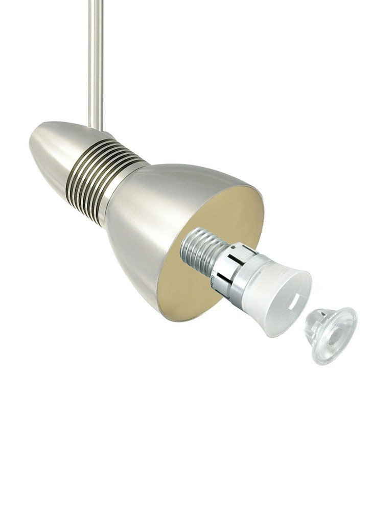 "Tech Lighting 700FJHEL2524-LED FreeJack Helios Directional LED Head with 24"" Ste, Antique Bronze"