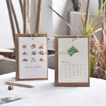 Small Table Calendar 9