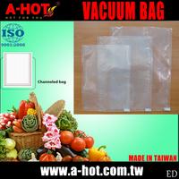 Kitchen Food Vegetable Fruit Saver Vacuum Channeled Sealer Bag