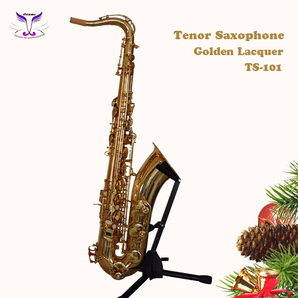 Fine Quality Musical Instrument Professional Saxophone Tenor