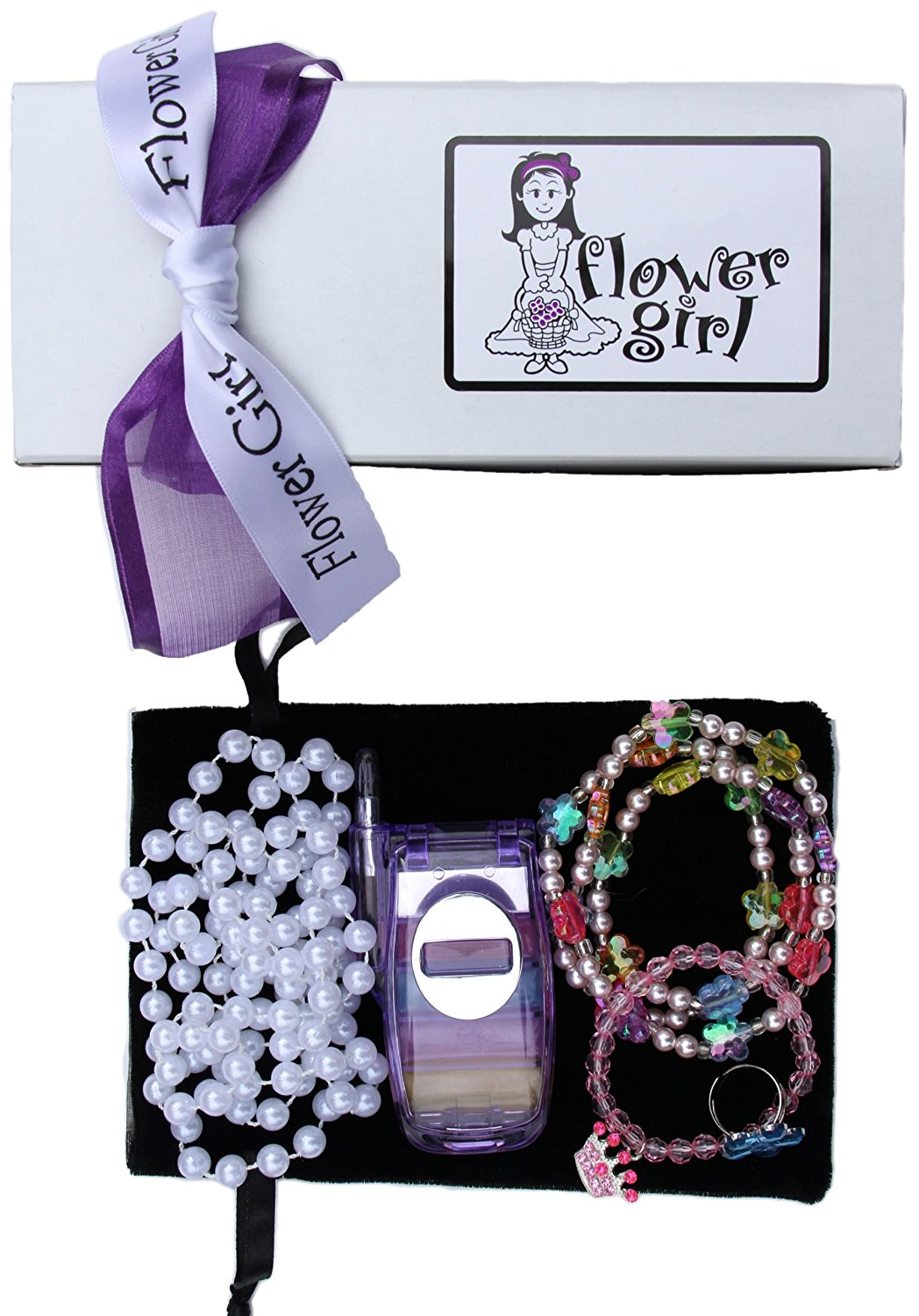 Cheap flower girl gift bag find flower girl gift bag deals on line get quotations flower girl gift boxed bling bag izmirmasajfo