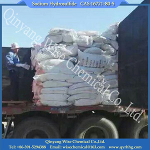 sodium hydrosulphide 70 nash for textile /CAS No.:16721-80-5