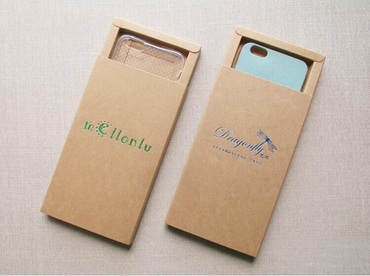 Elegant design <strong>custom</strong> printed mobile cell phone case paper packaging retail box