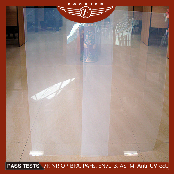 Transparant pp sheet clear pp plastic sheet
